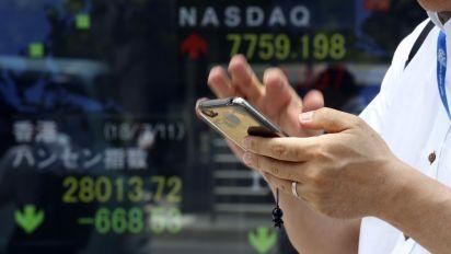 Wall St. rises as Microsoft gains, lifts tech stocks