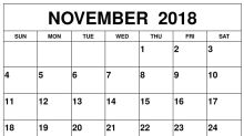 Typical November Trading: Strength Early & Late