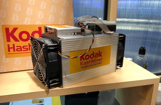 Kodak slaps its name on a sketchy bitcoin-mining business