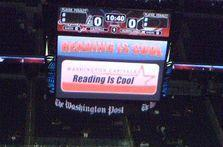"Verizon Center shows off ""first true indoor HD LED scoreboard"""