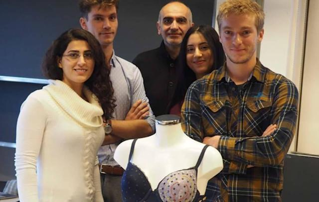 Students develop a smart bra for early breast cancer detection