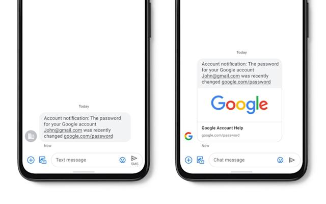Google adds spam detection and verified business SMS to Messages