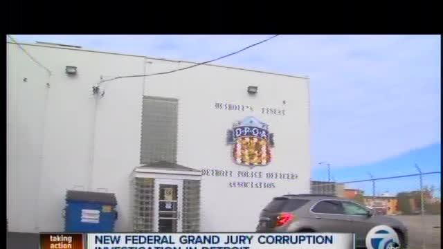 New federal grand jury corruption investigation in Detroit