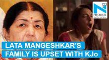 Lata Mangeshkar's family miffed over masturbation scene in 'Lust Stories'
