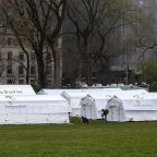 Samaritan's Purse, Mount Sinai Health System opens field hospital in New York's Central Park