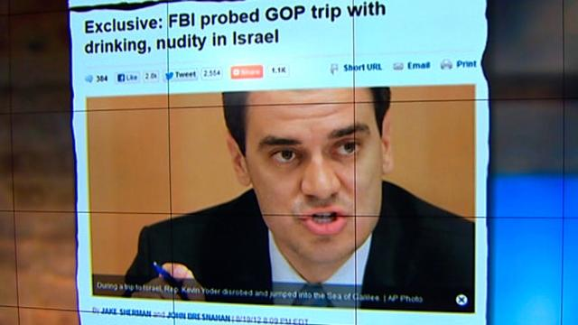 Report: FBI investigates GOP skinny dipping in Israel