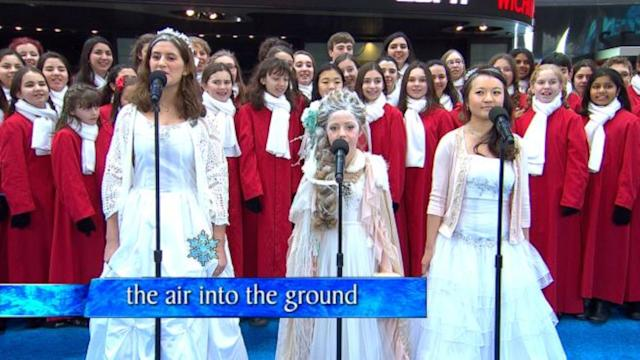'GMA''s Epic 'Frozen' Singalong, Live!