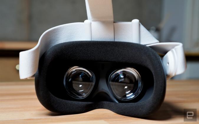 Oculus Quest 2 foam insert