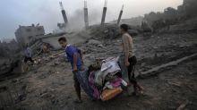 La exposición que muestra en fotos la resistencia de los gazatíes a los ataques de Israel