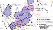 Tinka announces new discovery at Zone 3, drills 10 metres grading 7.9 % zinc+lead