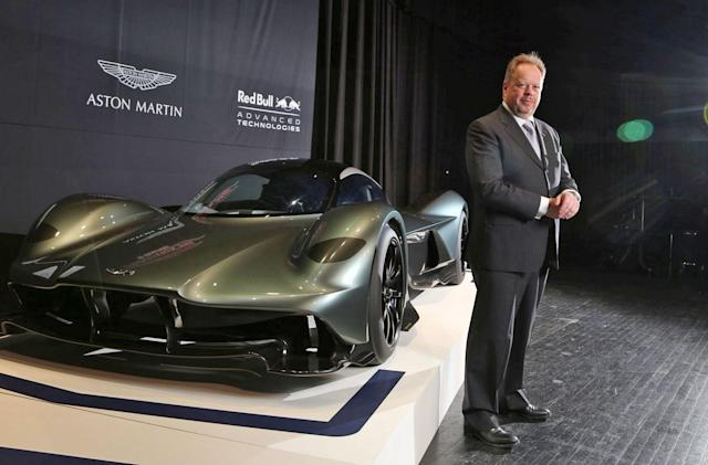 Aston Martin will go EV and hybrid only in the mid-2020s