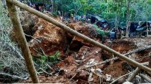 Mine collapse in Nicaragua traps at least 10