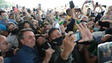 Bolsonaro inaugura obras iniciadas por Lula e Dilma