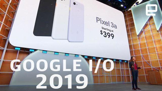 Watch Google's I/O 2019 keynote in 13 minutes