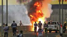 F1: spectaculaire accident de Grosjean, victime de brûlures légères, à Bahreïn