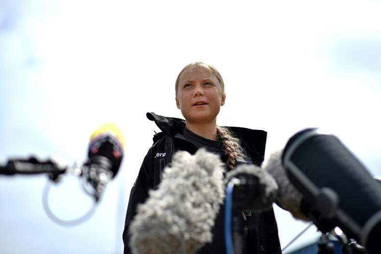 Bachelet denounced the attacks on environmental campaigners and the abuse directed against teeager campaigner Greta Thunberg (AFP Photo/Ben STANSALL)