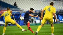 Foot - Bleus - Olivier Giroud (Bleus), après avoir dépassé Michel Platini : «Comme j'avais pu le rêver»