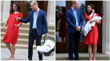 What Will and Kate really said to each other on the steps of the Lindo Wing