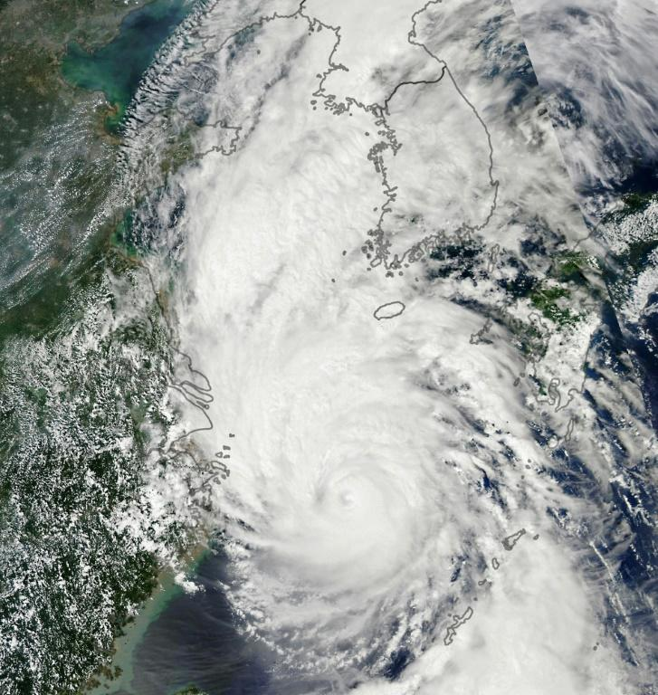 North Korea reports five deaths, damage in typhoon