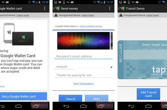 Google Wallet update purportedly leaks plans for a real-world card, transfers and transit passes