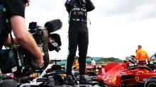 British Grand Prix LIVE result: Latest F1 reaction as Lewis Hamilton wins despite last-lap puncture in late drama