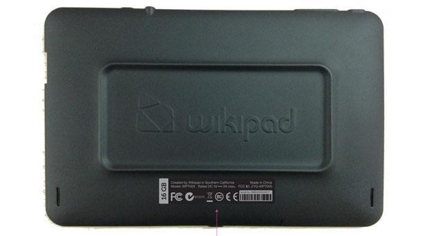 Wikipad's 7-inch gaming tablet flashes its insides at the FCC