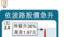 冠城3.7億入股 依波路飆24%