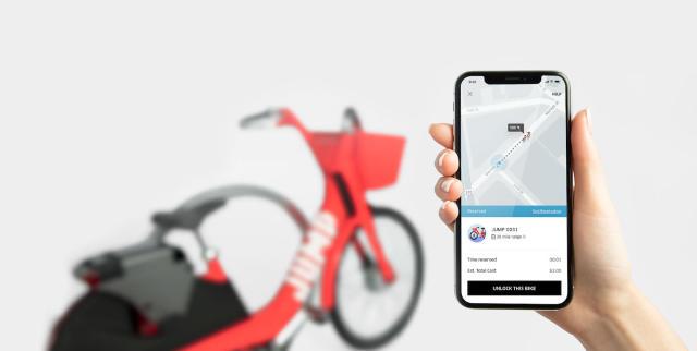 Uber buys San Francisco bike-sharing service Jump