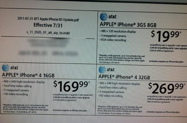 iPhone price cuts hitting Radio Shack, Target tomorrow?