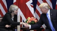 Brexit: Theresa May insists Britain is not turning its back on the world and vows trade deal with Trump