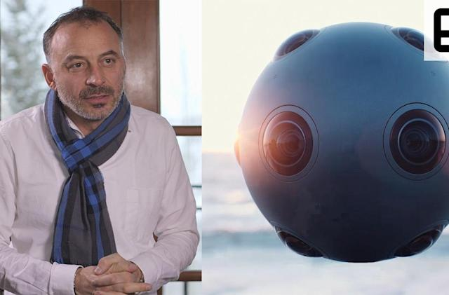 Nokia president talks Ozo and the company's big VR bet