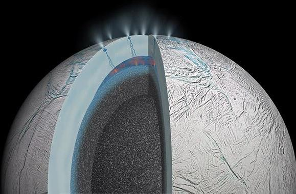 Saturn's icy moon possibly has warm waters that could foster life