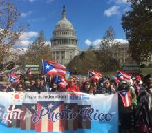 Two months after Hurricane Maria, thousands march in Washington for Puerto Rico