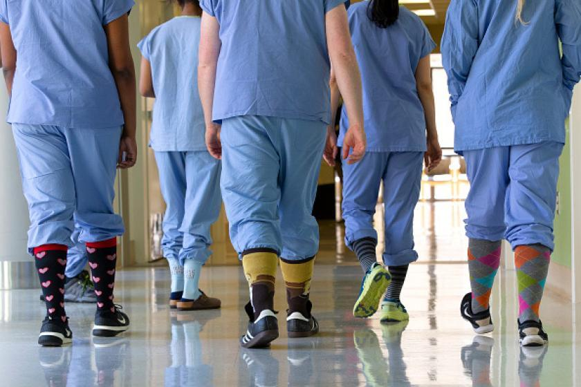 1.4 million health-care workers lost their jobs due to the ...