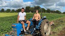 Traktor in Schalke-Farbe! BVB reagiert auf Haalands Foto