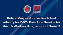 Petron extends fuel subsidy for DOTr Free Ride Program until mid-June