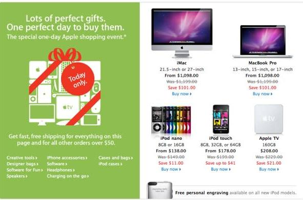 Apple's Black Friday deals hit Australia site, same as it ever was (update: US and UK too)