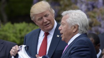Kraft rips Trump's rhetoric on NFL players in '17 audio