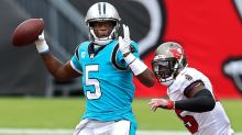 McCaffrey injury gives Panthers' Teddy Bridgewater an opportunity