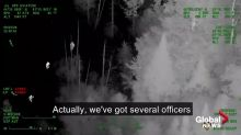 Footage shows OPP helicopter pilot helping find 6-year-old lost in woods