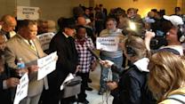 30 arrested in NAACP protest at Legislature