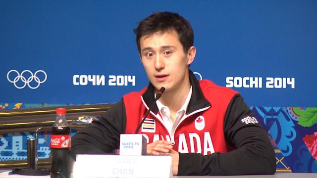 Chan: Being on the ice is lonely & tough