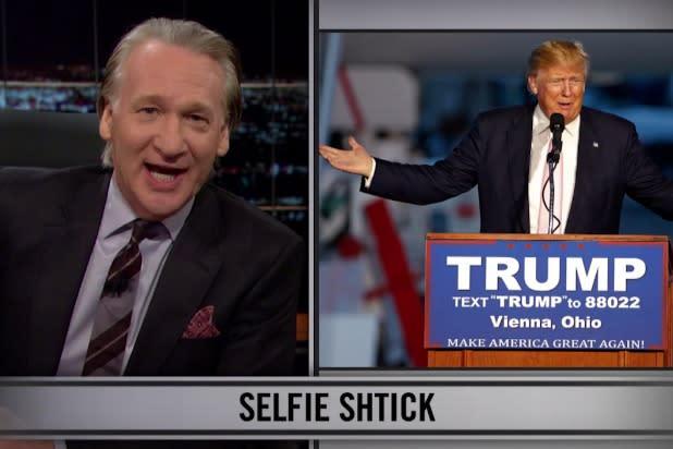 Watch Bill Maher Call Donald Trump a Kid Kicking Your Seat