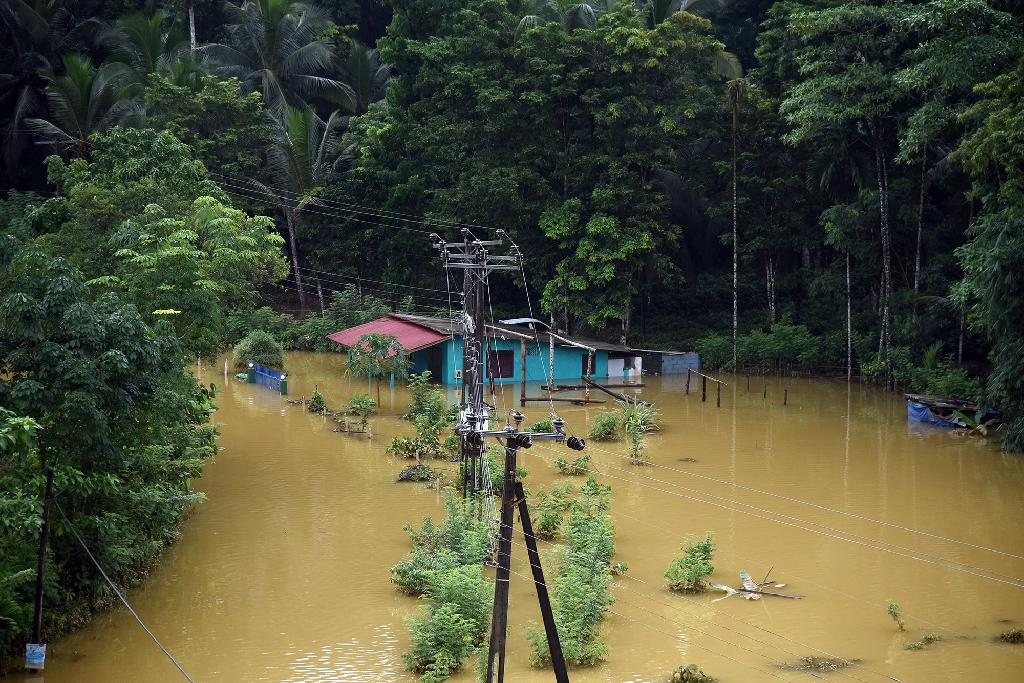 The recent flooding in Sri Lanka is the worst since May 2003 when 250 people were killed and 10,000 homes destroyed after a similarly powerful monsoon