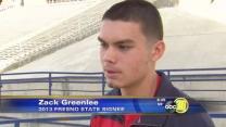 Top Fresno St. Recruit Attends Sweeney Memorial