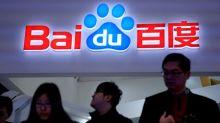 China's Baidu beats earnings expectations, shares rally