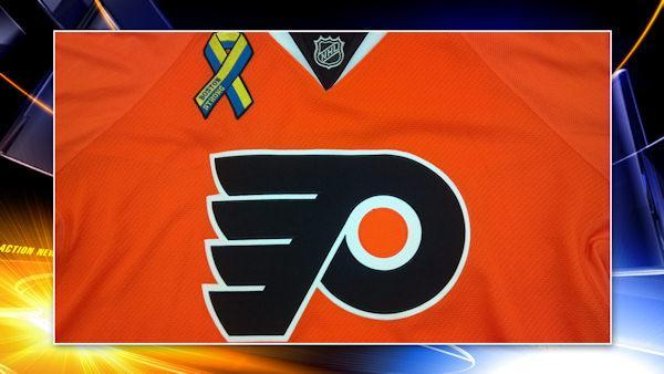 Flyers to honor Boston at tonight's game