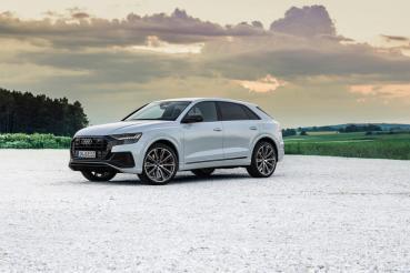 Audi Q8新增55 TFSI e與60 TFSI e插電新選擇