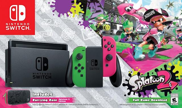 'Splatoon 2' Switch bundle is a $380 Walmart exclusive