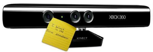 Senator Yee's office recommends you mail him Kinect, not 'dated controllers'